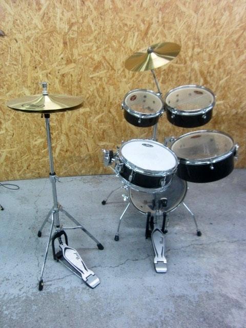 大和市にて Pearl/パール ドラムセット CX200 RHYTHM TRAVELER を出張買取しました