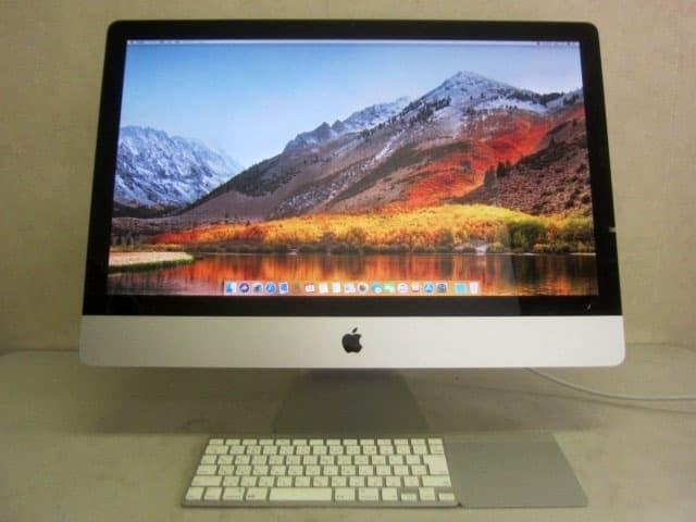 東京都 世田谷区にて Apple iMac 27-inch, Mid 2011 core i5 HDD1TB メモリ16GB を出張買取しました