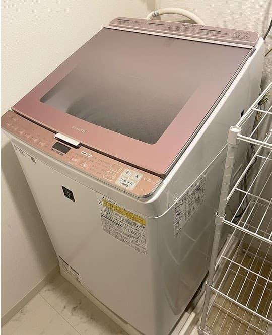 東京都 国分寺市にて シャープ 洗濯機 ES-PX8C 2018年製 を出張買取しました
