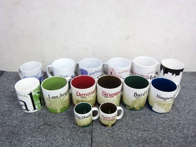 東京都 世田谷区にて スターバックス 海外 ご当地マグカップ 14点まとめ を店頭買取しました