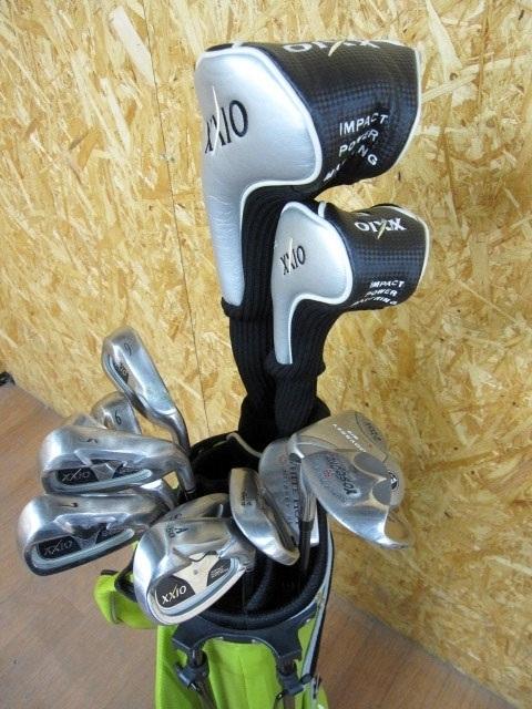 小平市にて XXIO ゼクシオ MP500 2008モデル 1W 5W 5-9,A,S,P キャディバッグセット を出張買取致しました