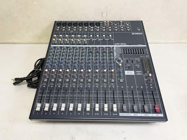 東京都 港区にて ヤマハ ミキサー パワードミキサー EMX5014C を出張買取しました