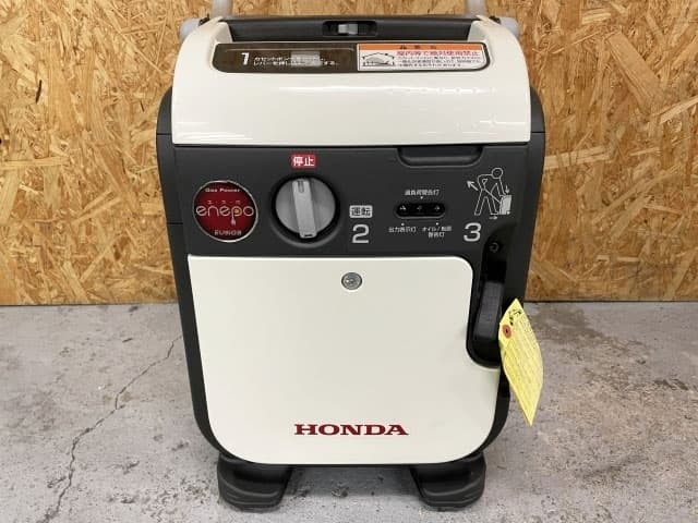 神奈川県 横浜市にて ホンダ カセットボンベガス式 インバーター発電機 enepo EU9iGB を出張買取しました