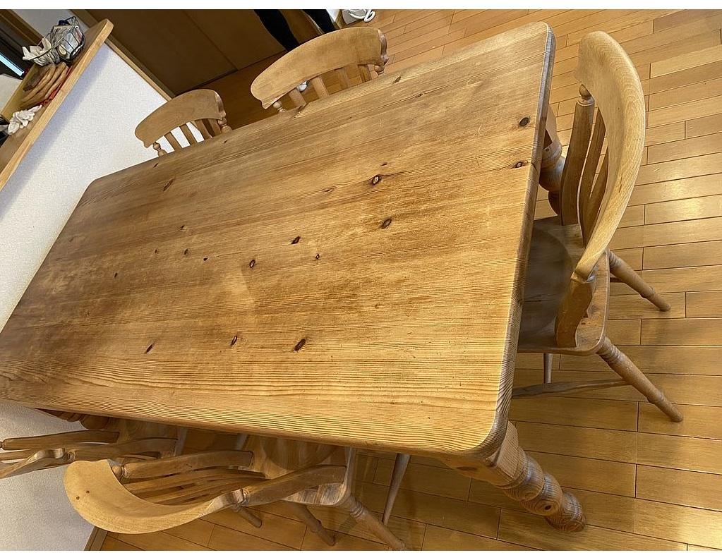 東京都 国立市にて ペニーワイズ ダイニングテーブルセット を出張買取致しました