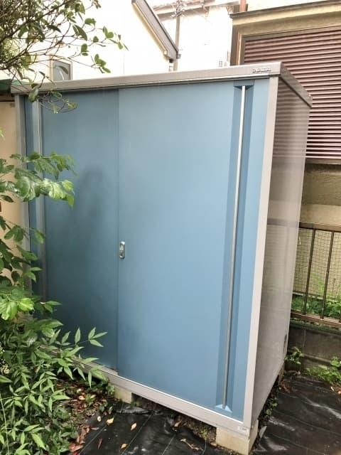 神奈川県 横浜市 戸塚区にて イナバ物置 シンプリー MJX-179E  2020年製 を出張買取しました