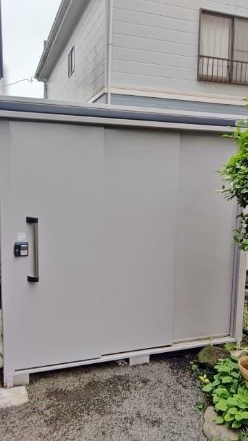 神奈川県 相模原市にて ヨド物置 ヨドコウ エルモ LMD-2225 を出張買取しました