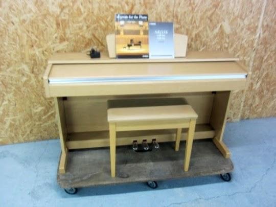 練馬区にて ヤマハ アリウス 電子ピアノ YDP-141C 椅子付き を出張買取しました