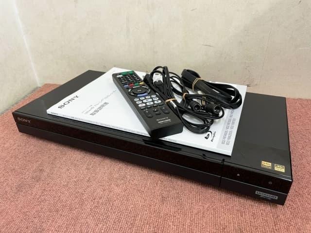 神奈川県 川崎市にて SONY ブルーレイレコーダー BDZ-FBT3000 2020年製 を出張買取しました