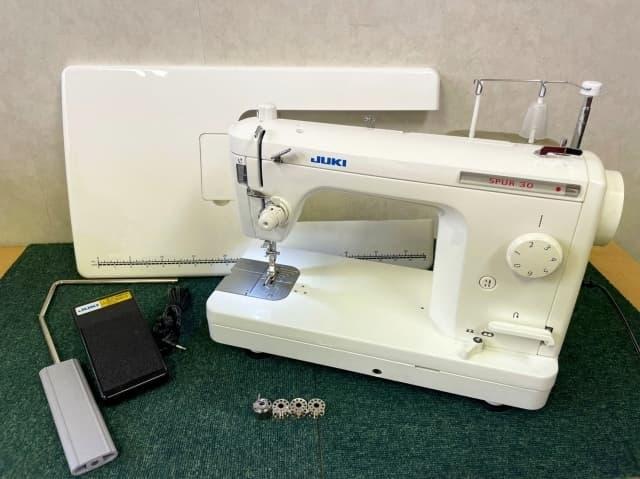 東京都 小平市にて JUKI/ジューキ 職業用ミシン SPUR 30 TL-30 を店頭買取しました