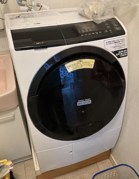 小金井市にて ドラム式洗濯機 日立 BD-SG100EL 2020年製  を出張買取しました