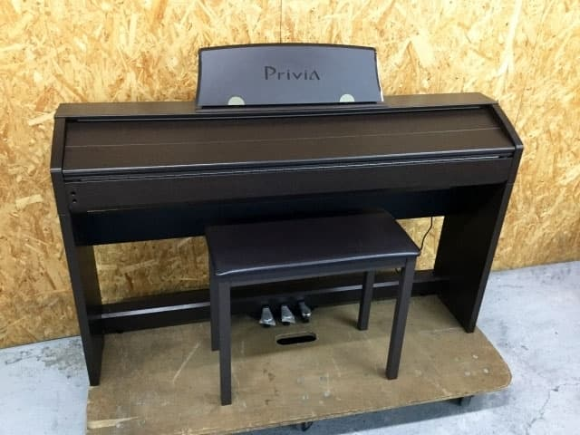 東京都 東村山市にて カシオ  Privia 88鍵盤 電子ピアノ PX-760BN 2014年製 を出張買取しました