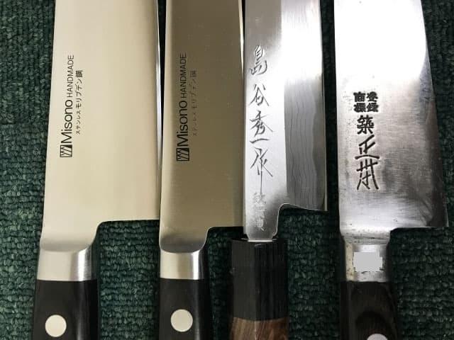 神奈川県 横須賀市にて 包丁まとめ MISONO/島谷秀一など を店頭買取しました