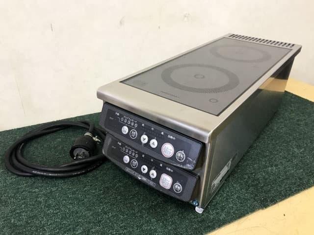 東京都 世田谷区にて ホシザキ 業務用 電磁調理器 IHコンロ HIH-11RE-1 200V 2019年製 を店頭買取しました