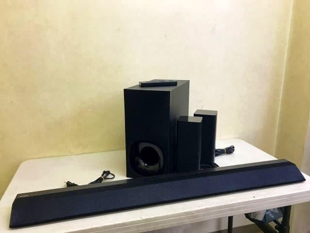 SONY ホームシアターシステム HT-RT5 2018年製
