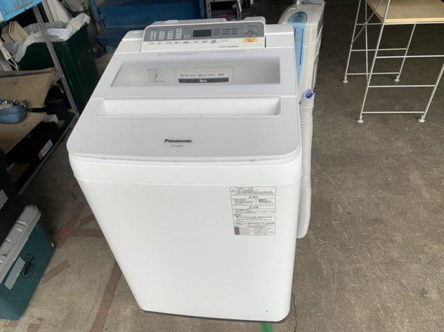 神奈川県 大和市にて パナソニック  洗濯機 NA-FA80H6 2019年製 を店頭買取しました