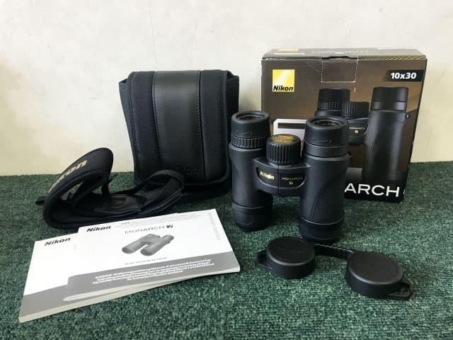 東京都 八王子市にて ニコン 双眼鏡 モナーク/MONARCH M711 10×30 を店頭買取しました