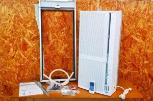 コロナ 冷暖兼用 窓用ウエアコン CWH-A1817 2017年製