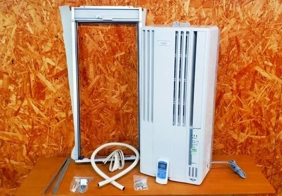 東京都 小金井市にてコロナ 冷房専用 窓用エアコン CW-FA1819 2019年製 を出張買取しました