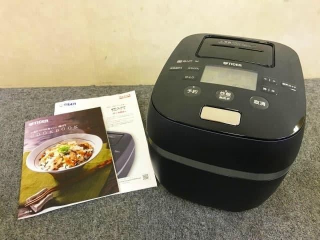 東京都 渋谷区にて タイガー 圧力IH炊飯ジャー JPJ-A060 2019年製 を出張買取しました