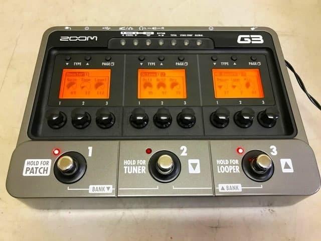 東京都 世田谷区にて ZOOM ギター用 マルチエフェクター G3 を店頭買取しました