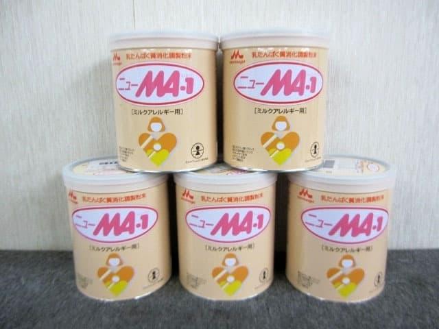 東京都 世田谷区にて 森永 ニューMA-1 粉ミルク 大缶 ミルクアレルギー用 800g×5缶 を店頭買取しました