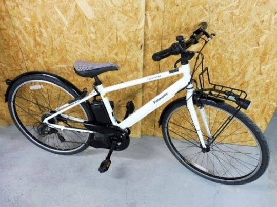 所沢市にて 電動アシスト自転車 パナソニック ベロスター BE-ELVS77F 2019年 を出張買取しました