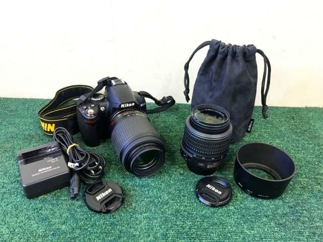神奈川県 相模原市にて Nikon デジタル一眼レフカメラ D3000 レンズセット を店頭買取しました