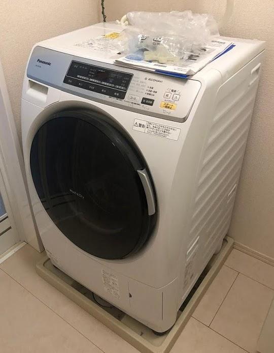 武蔵村山市にて ドラム式洗濯機 パナソニック NA-VD120L 2013年製 を出張買取致しました