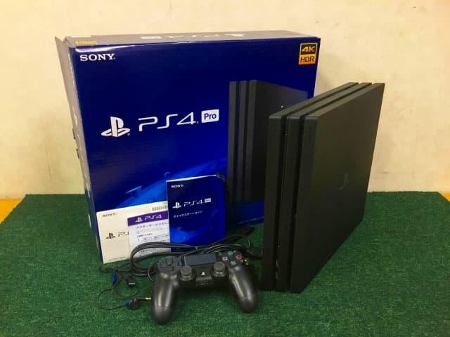 神奈川県 横浜市にて SONY PS4 Pro プレイステーション4 本体 1TB CUH-7200B を出張買取しました
