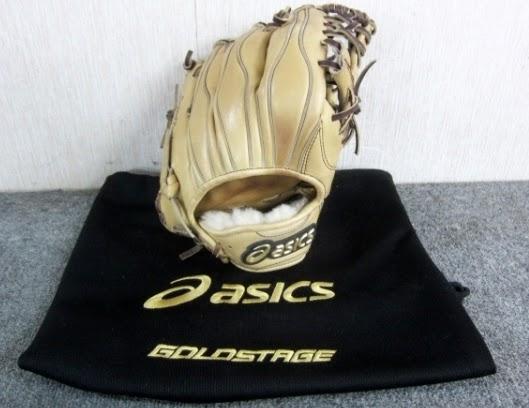 小平市にて アシックス asics GOLD STAGE 硬式 内野手用 グローブ BGH4LK を店頭買取致しました