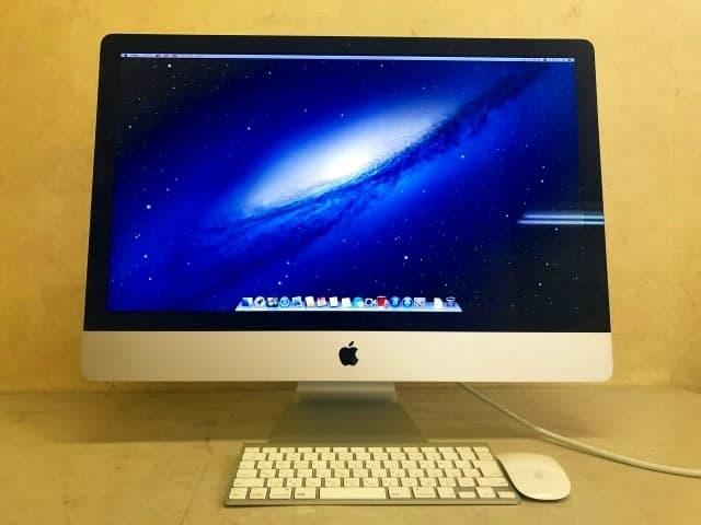東京都 西東京市にて Apple iMac 27インチ Late2013 Core i5 3.2GHz/8GB/1TB を出張買取しました