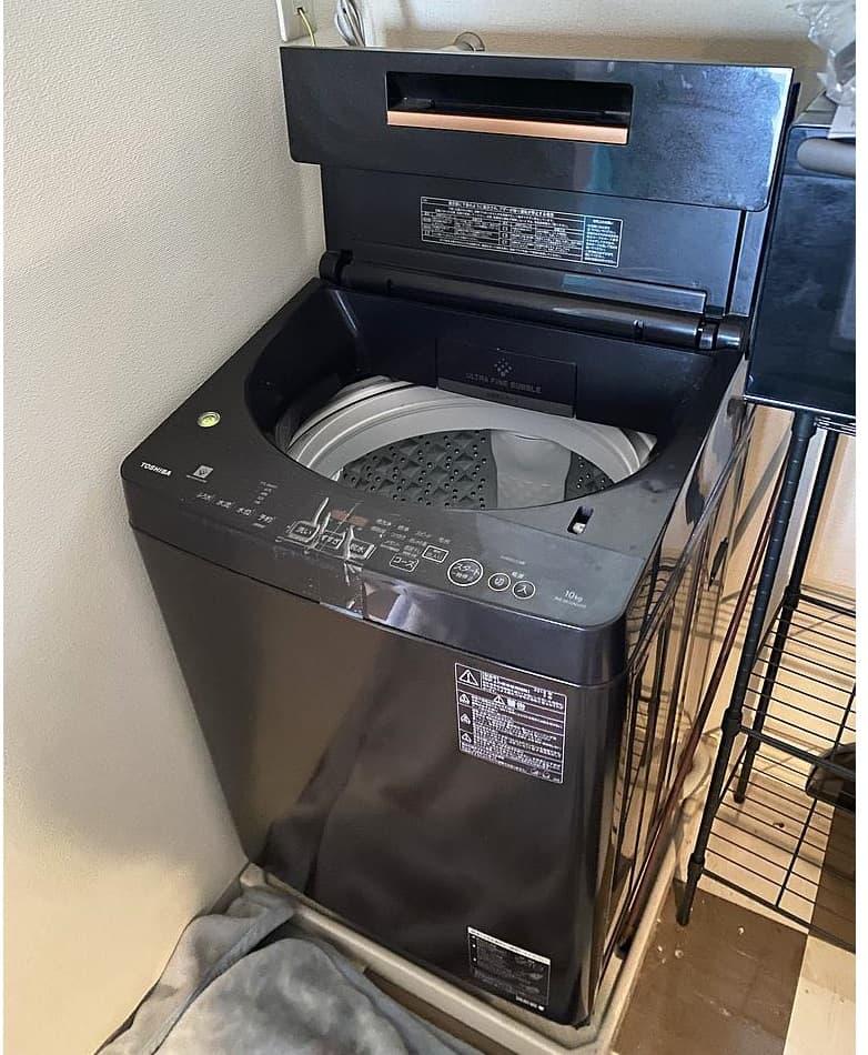 神奈川県川崎市にて 東芝 洗濯機 AW-BK10SD7 2018年製 を出張買取しました