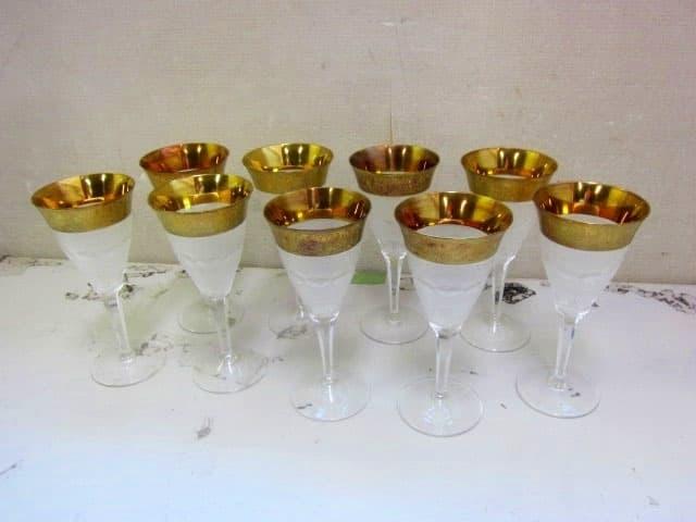 東京都 港区にて Moser/モーゼル ワイングラス スプレンディッド9客セット を出張買取しました