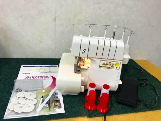 東京都 世田谷区にて JUKI Baby lock ロックミシン 糸取物語 BL165MD を出張買取しました