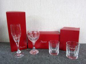 バカラグラス まとめ 4点 シャンパングラス ワイングラス ロックグラス