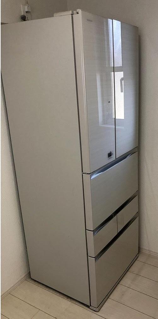 東京都東村山市にて 冷蔵庫 東芝 GR-J460FV 2016年製 を出張買取致しました