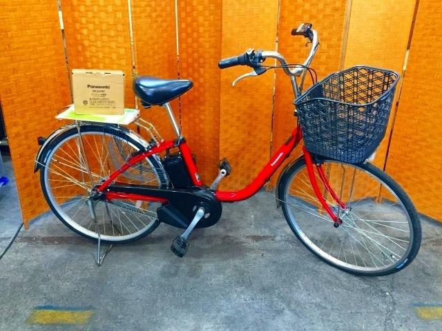 神奈川県 茅ヶ崎市にて パナソニック ビビSX 電動アシスト自転車 8.0Ahを出張買取しました