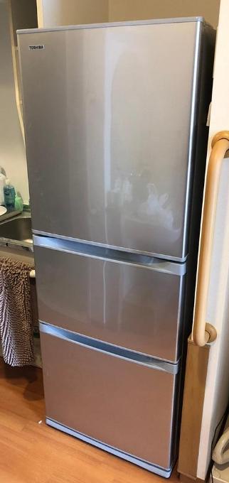 冷蔵庫 東芝 GR-H34S 2016年製