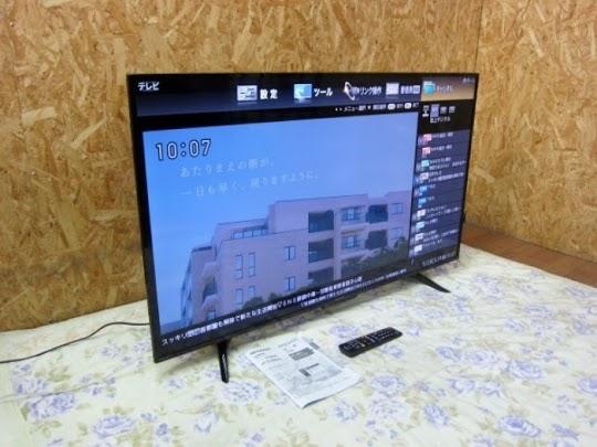 液晶テレビ シャープ 4T-C50AH2 2018年製