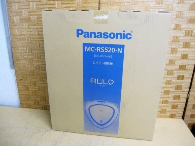 東京都 世田谷区にて パナソニック ルーロ お掃除ロボット MC-RS520-N を店頭買取しました