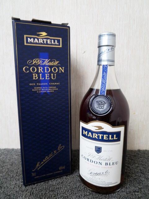 洋酒 MARTELL CORDONBLEU オールド 未開栓 マーテル コルドンブルー