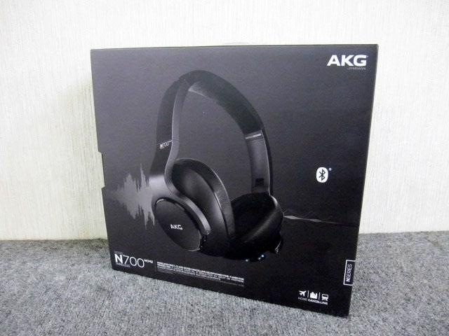 相模原市にて AKG ワイヤレスヘッドホン N700 NCM2 BLACK を店頭買取しました