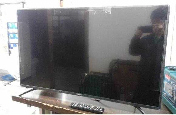 液晶テレビ ハイセンス 43F60E 2019年製