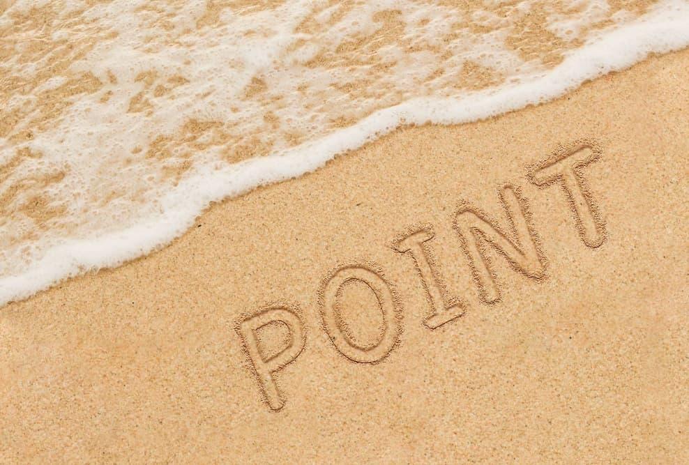 砂浜 POINT