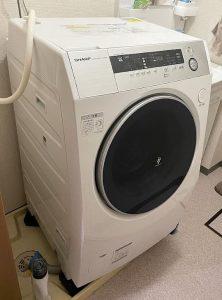 ドラム式洗濯機 シャープ ES-H10B 2018年製