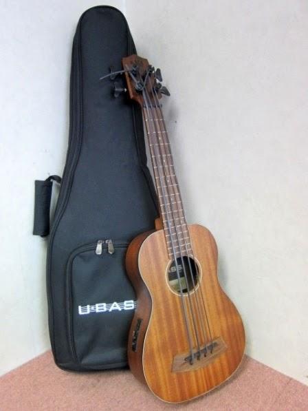 小平市にて KALA カラ ウクレレベース U/BASS UBASS-RMBL-FS ソフトケース付き を出張買取しました