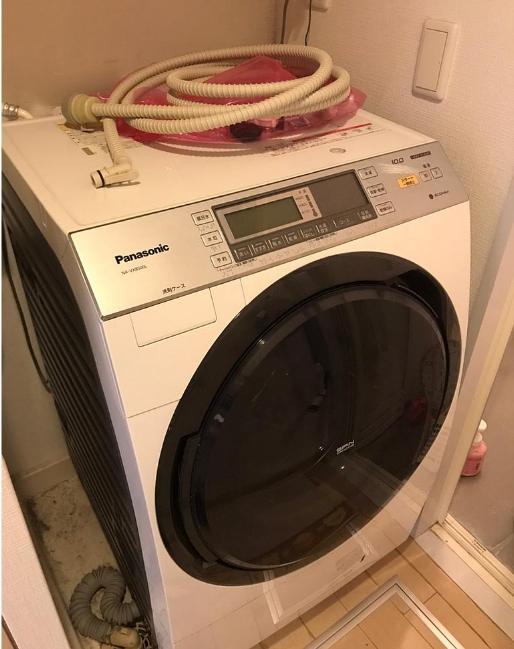 ドラム式洗濯機 パナソニック NA-VX8500L 2015年製