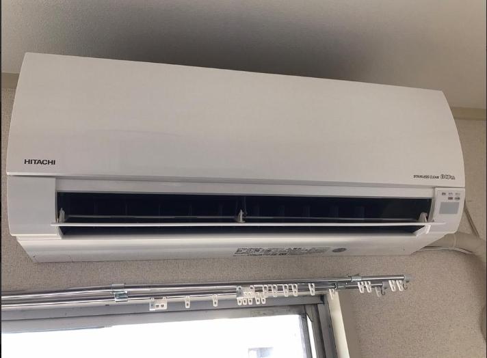 東村山市にて エアコン 日立 RAS-HM22G 2019年製を出張買取致しました