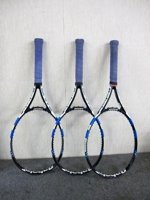 Babola バボラ PURE DRIVE テニスラケット 3本
