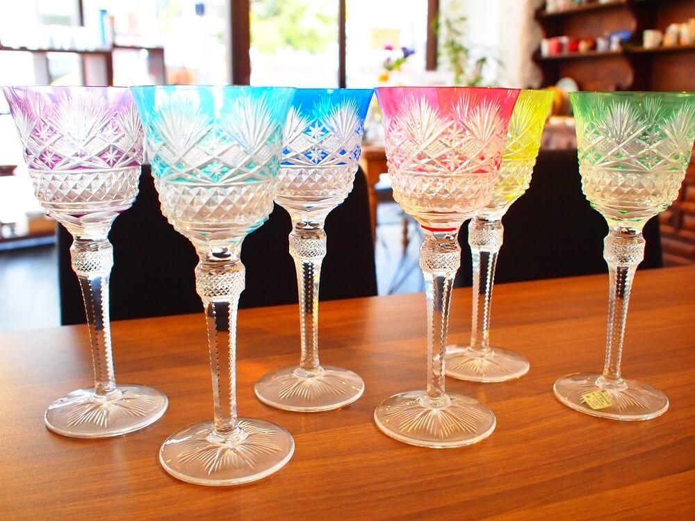 リサイクル店で買取できるワイングラス トップ6!